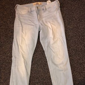 Light Wash Hollister Jeggings